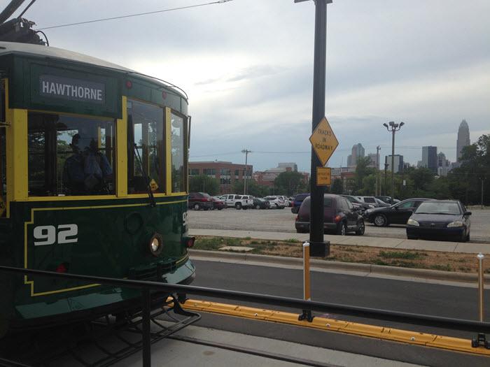 Charlotte NC Streetcar