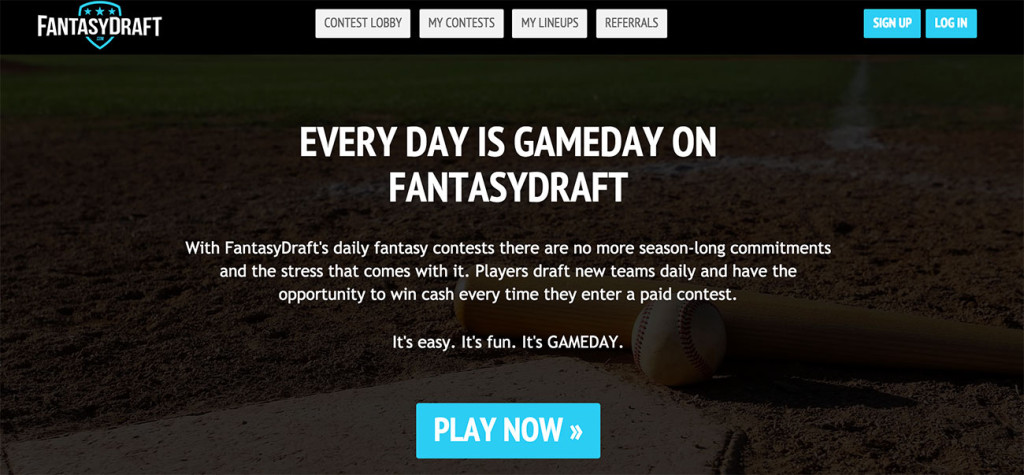 Local startup FantasyDraft.com is competing against the big boys like DraftKings and FanDuel