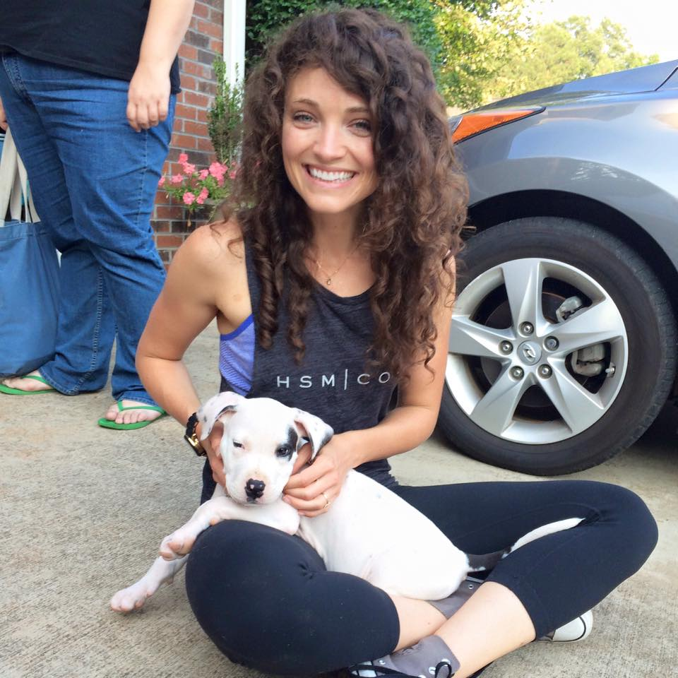 Katie Levans puppy