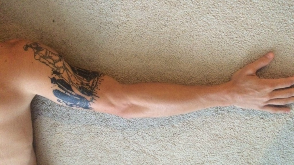 The story behind Kirk Dewaele's tattoo