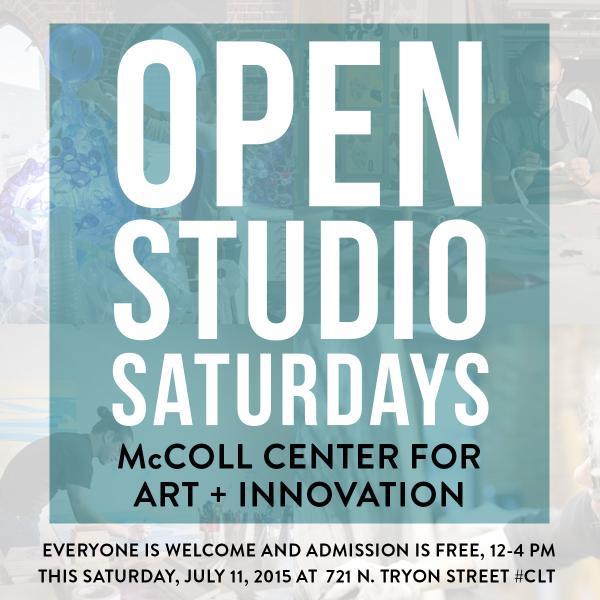mccoll center open studio