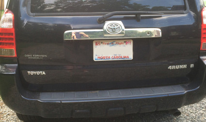 A sophisticated, analytical approach to the 6,300+ banned NC license plates