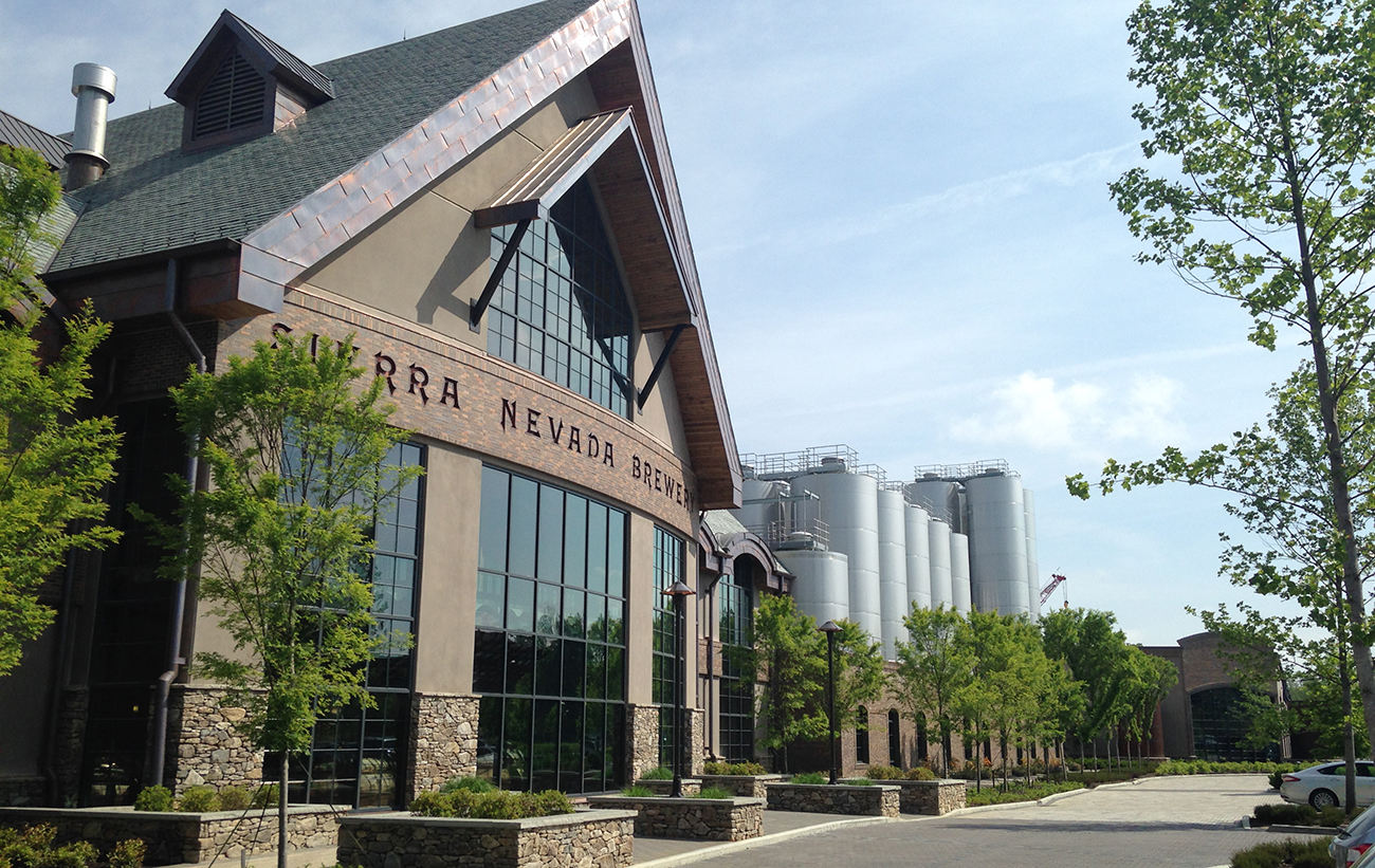 Look inside Sierra Nevada Brewery – 113 miles from Charlotte (15 photos)