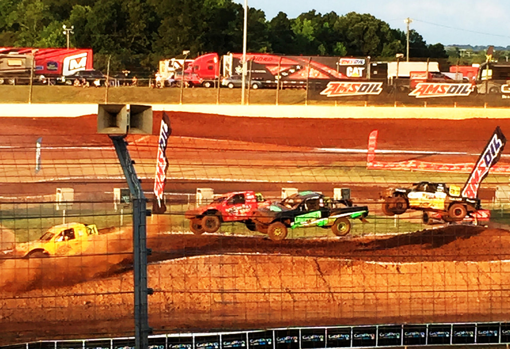 That time bae took me to The Dirt Track of Charlotte