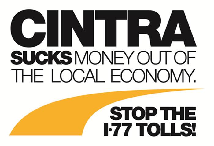 CINTRA-Stop-I77-tolls