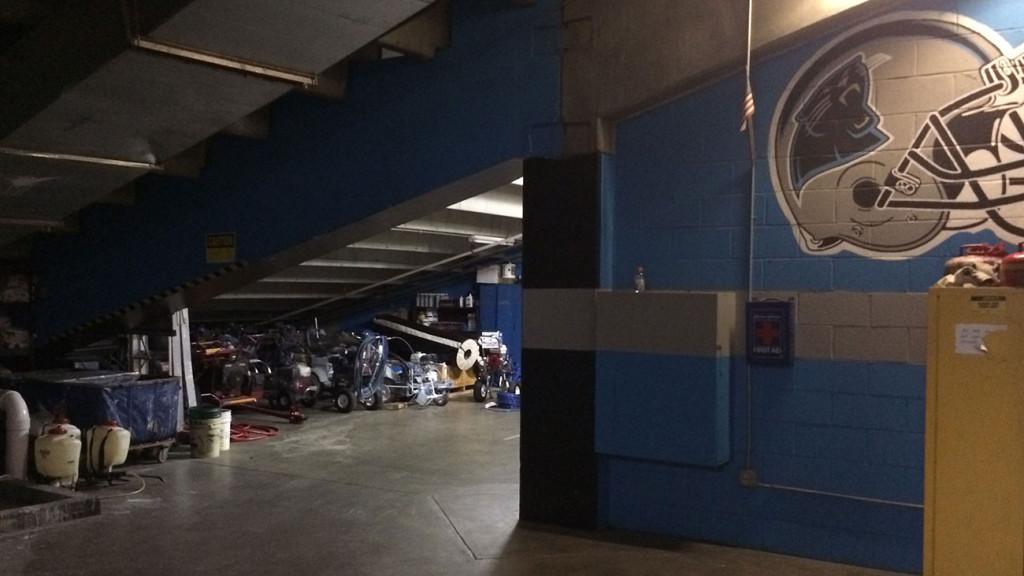 A look behind the scenes of Bank of America Stadium