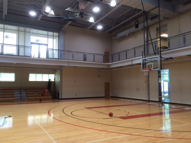 red ventures basketball court