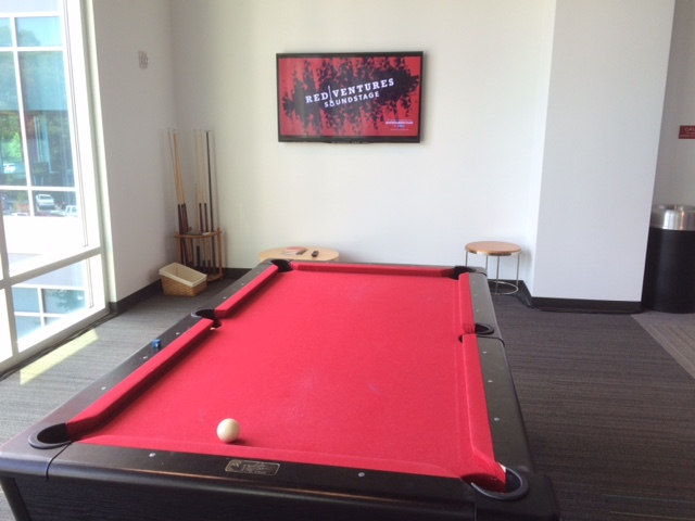 red ventures pool table