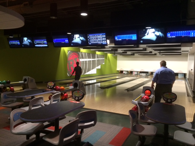 red ventures bowling alley