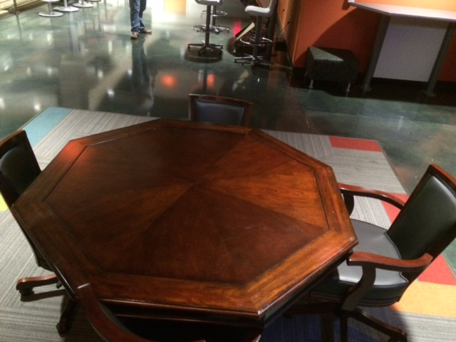 red ventures poker table