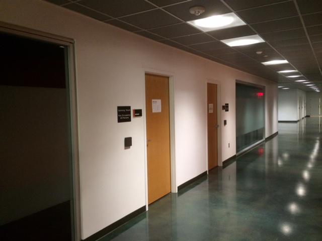 red ventures office hallway