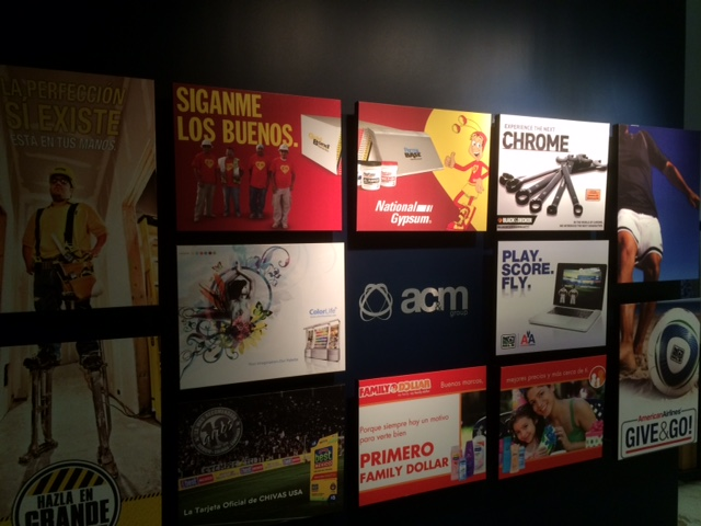 acm ad agency wall charlotte acm ad agency charlotte nc office wall