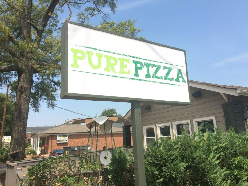 Pure Pizza has teamed up with 100 Gardens to educate students on the art of sustainable living