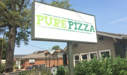 Pure Pizza has teamed up with 100 Gardens to educate students...