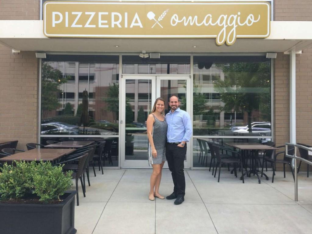 Pizzeria Omaggio opens tomorrow at The Metropolitan