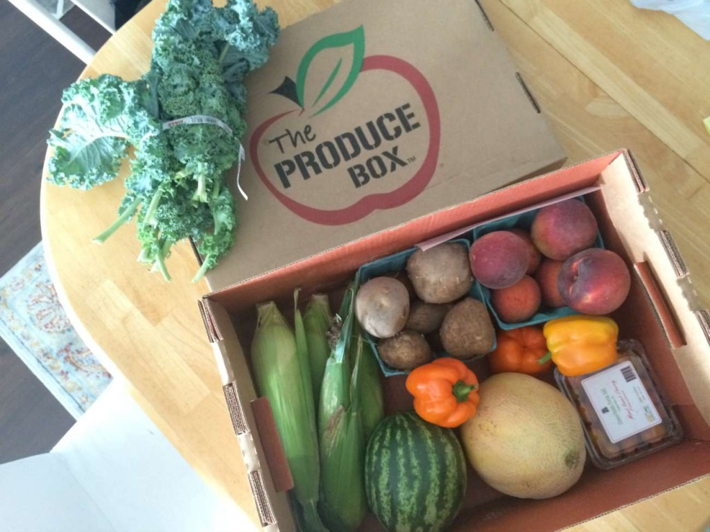 Testing out The Produce Box's local North Carolina weekly harvest delivery service