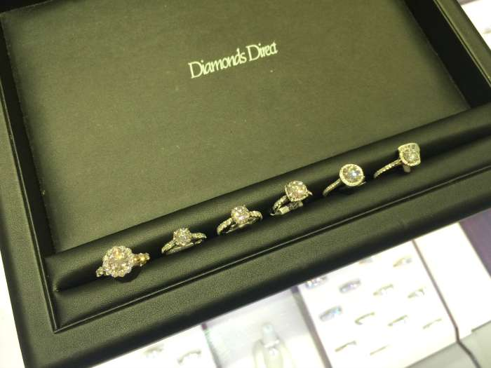 Diamonds Direct engagement rings
