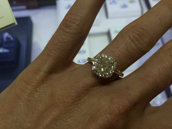 Diamonds Direct engagement ring