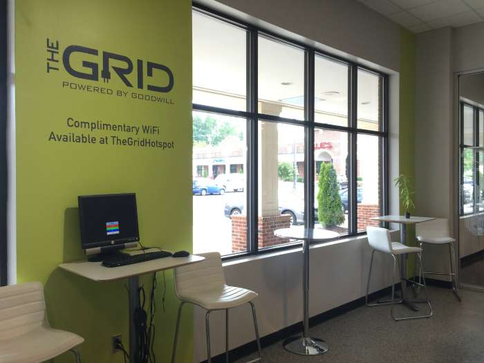 are you aware goodwill runs an electronics store called the grid