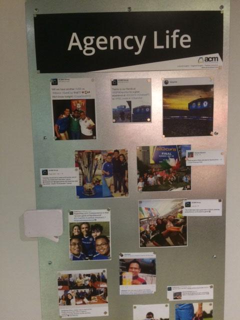 acm charlotte ad agency life acm ad agency charlotte nc office wall