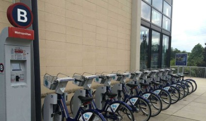 B-cycle is growing quickly. Look at the numbers