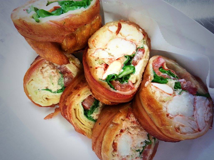 bacon-wrapped-fried-lobster-rolls
