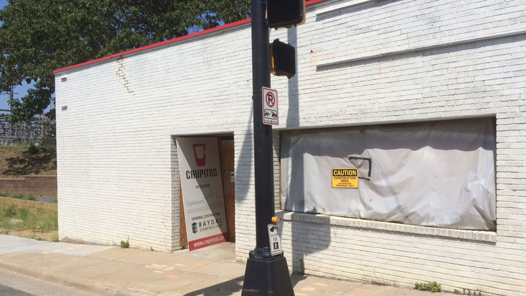 Chupitos: Charlotte's first shot bar is finally getting ready to continue construction and open