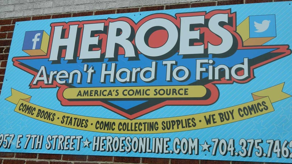 Charlotte Corners: Heroes Aren't Hard to Find patio