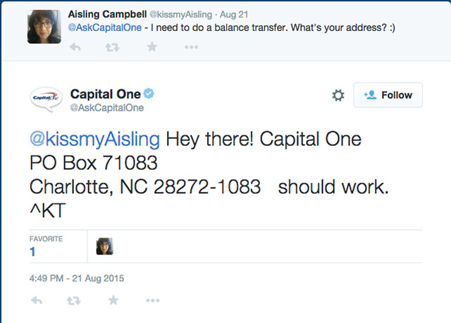 ... Southeast Toyota Finance And Capital One. Mailing 2