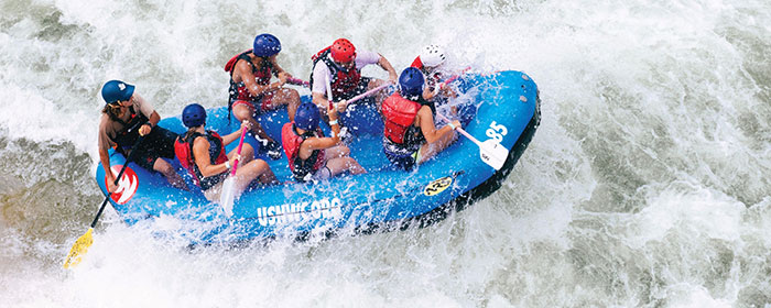 rafting at us national whitewater center