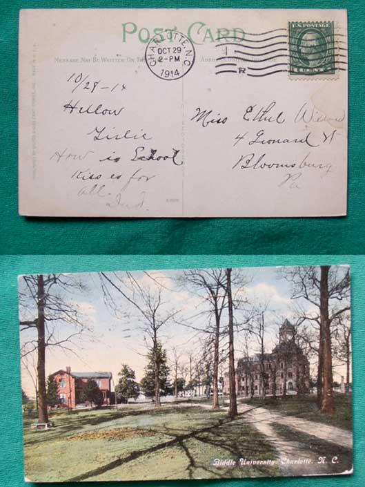 Biddle-University-Charlotte-NC-1914-
