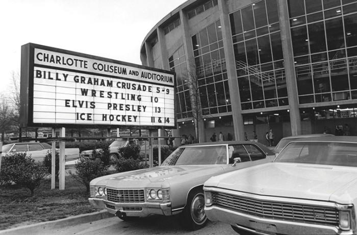 Bojangles' Coliseum retro