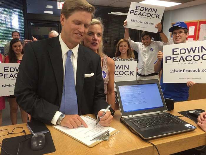 Edwin-Peacock filing