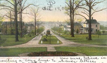 12 images and postcards that depict Charlotte's rich collegiate history