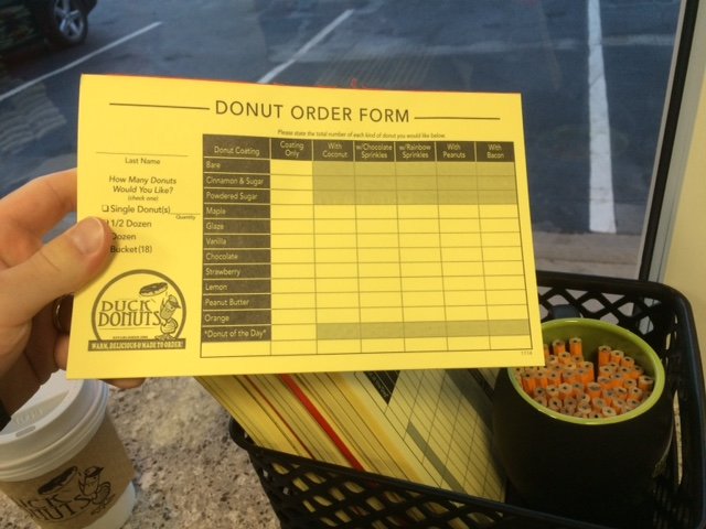 duck donuts order form charlotte
