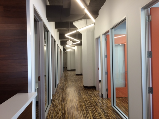 level office hallway charlotte nc