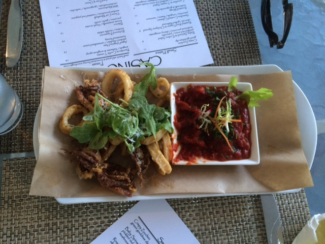 calamari at the homestead resort casino restaurant