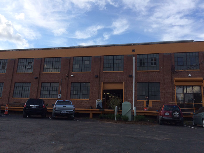 new NoDa brewing facility on tryon