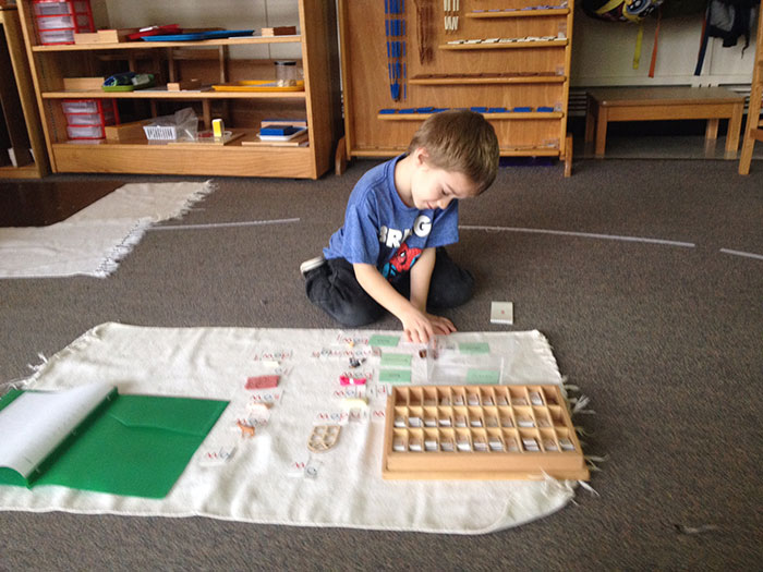 Montessori-learning