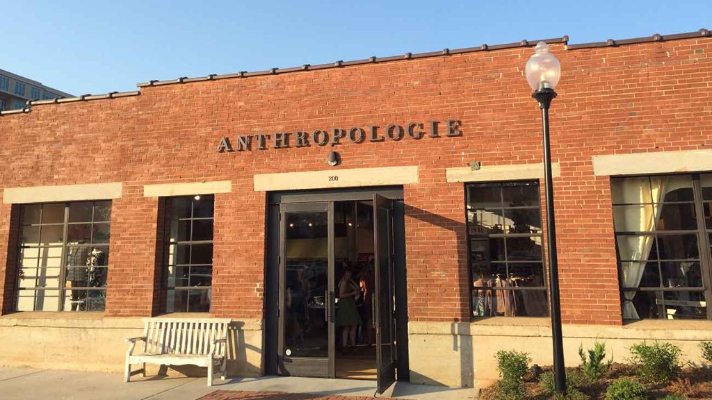 Anthropologie opens today at Atherton Mill: A sneak peek