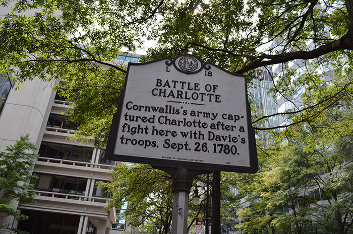 battle-of-charlotte-sign