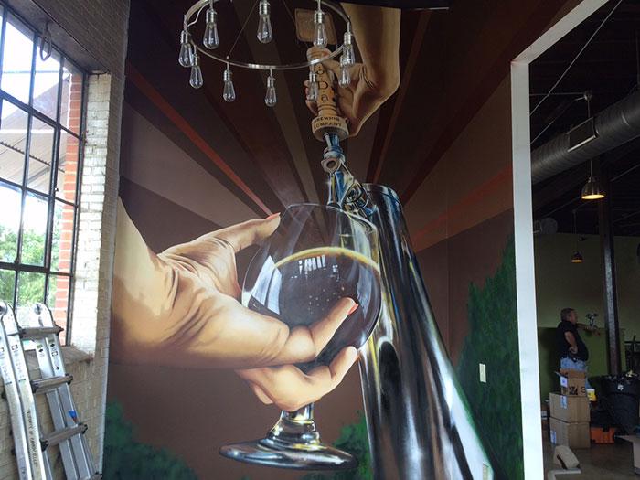 beer-tap-mural-at-noda-brewing