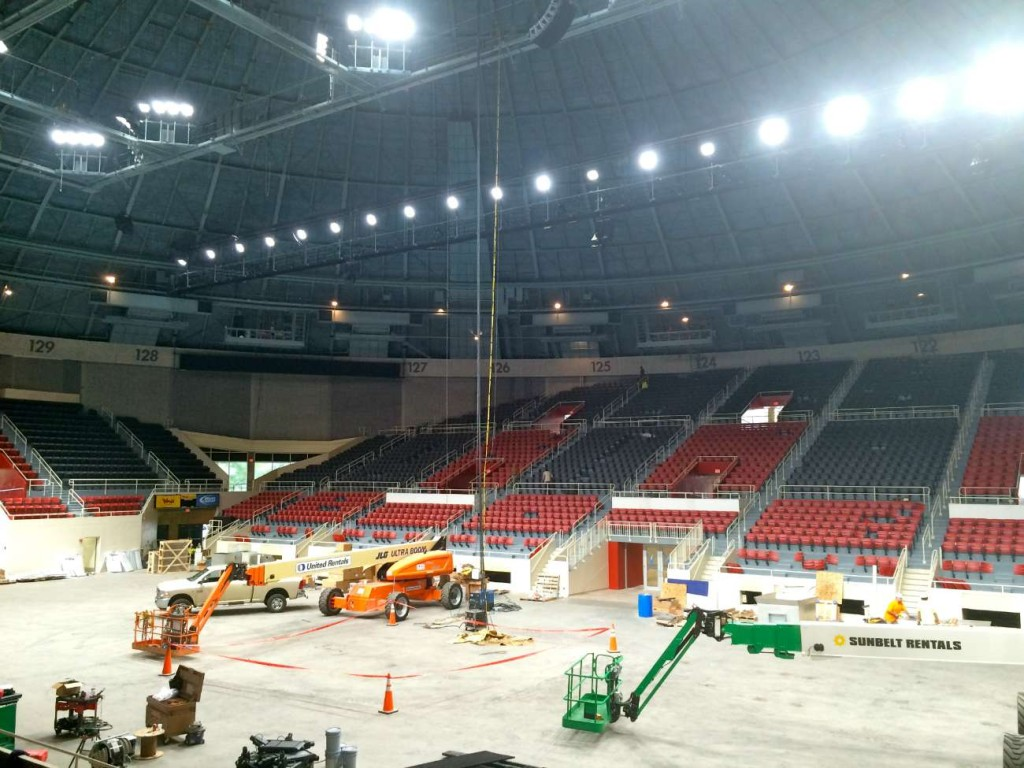 #CheckersComeHome: Inside the $16.5 million renovation of Bojangles' Coliseum