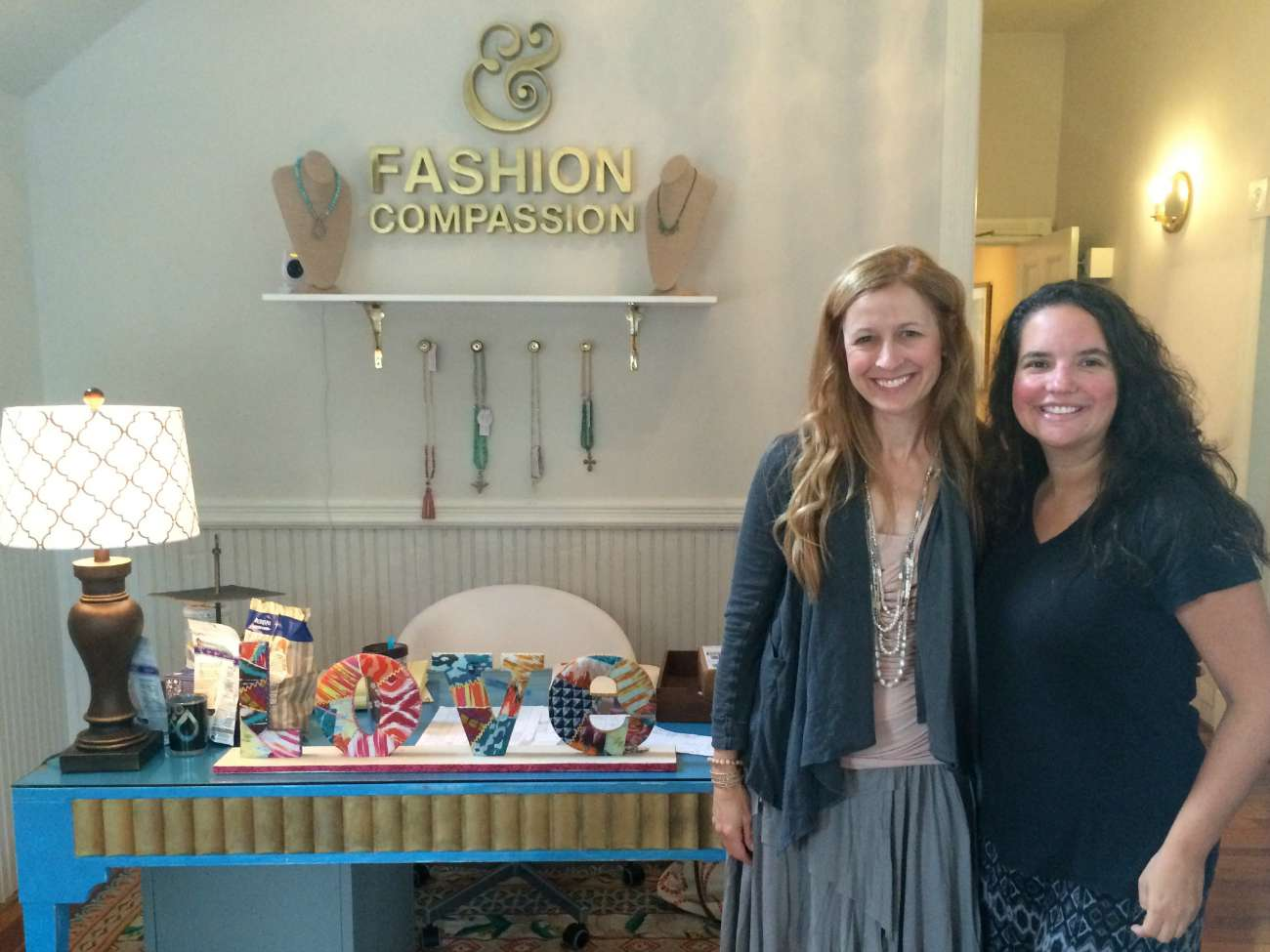 Shop like you mean it at Fashion & Compassion