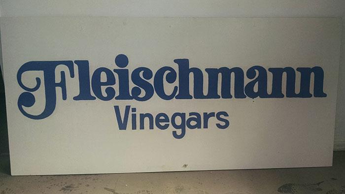 fleischmann-vinegars-sign
