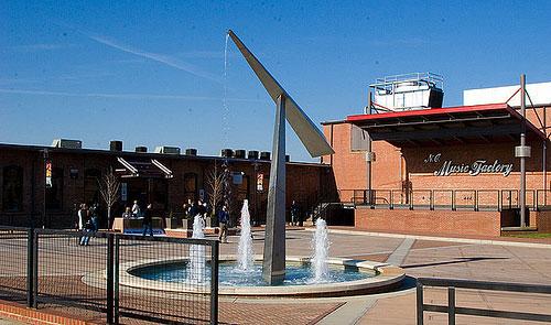Fountain Plaza NC Music Factory