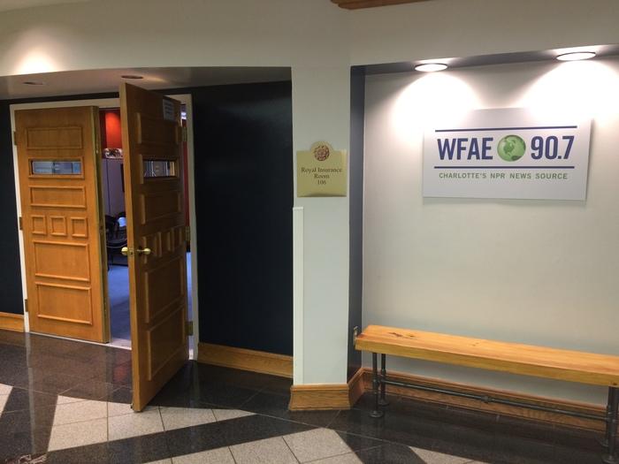 WFAE Spirit Square