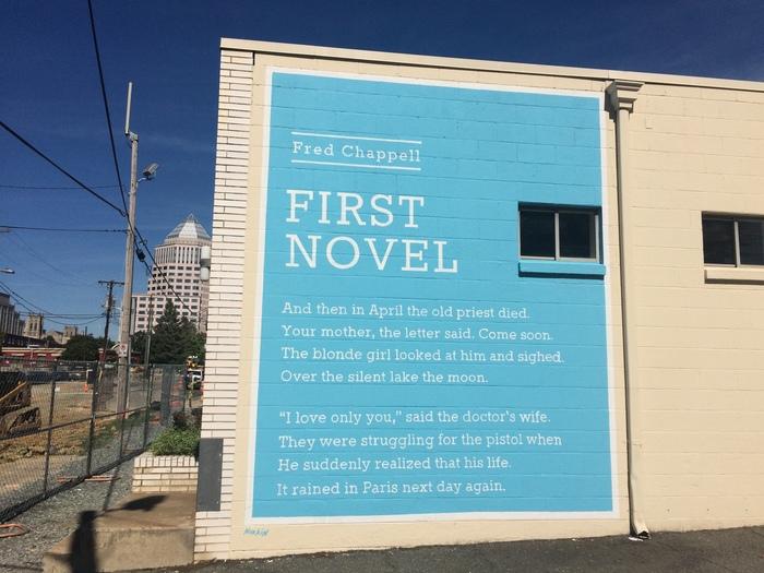 Wall Poem Charlotte