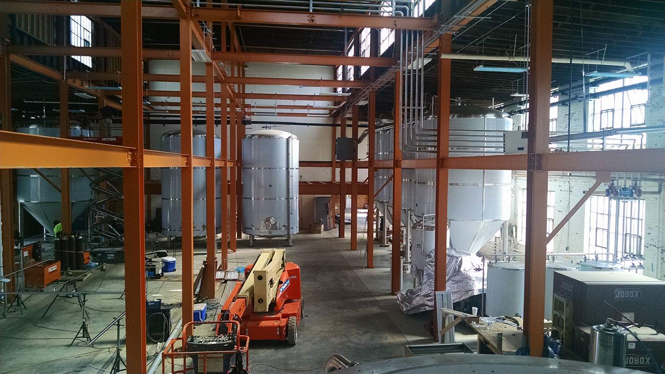 The new NoDa Brewing facility, explained