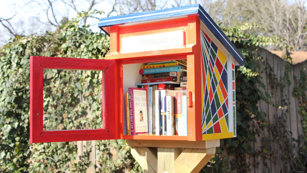 More than books in a birdhouse: Here's how Little Free Libraries promote reading